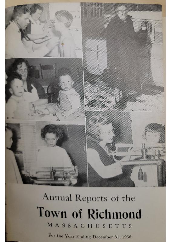 1956 Selectman Report