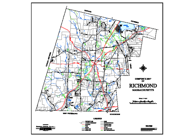 2013 Composite Map of Richmond Massachusetts