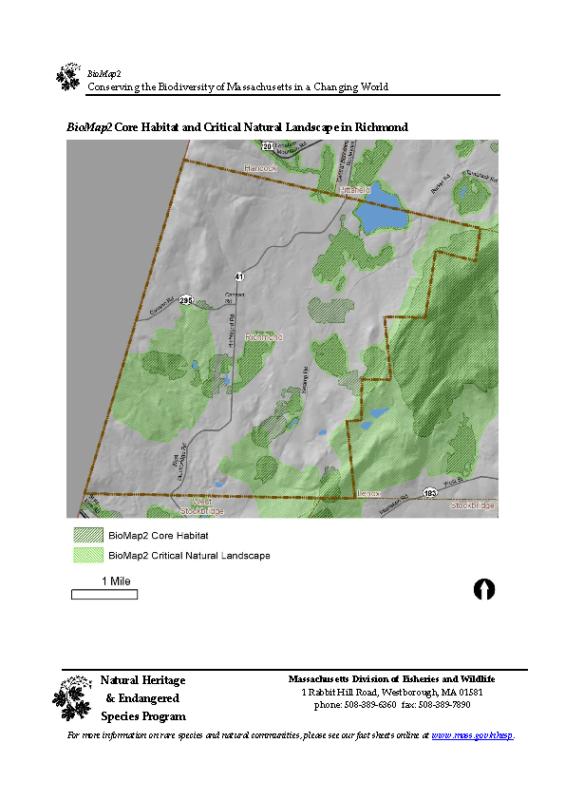 OSRP Appendix F BioMap2 Core Habitat and Critical Natural Landscape maps