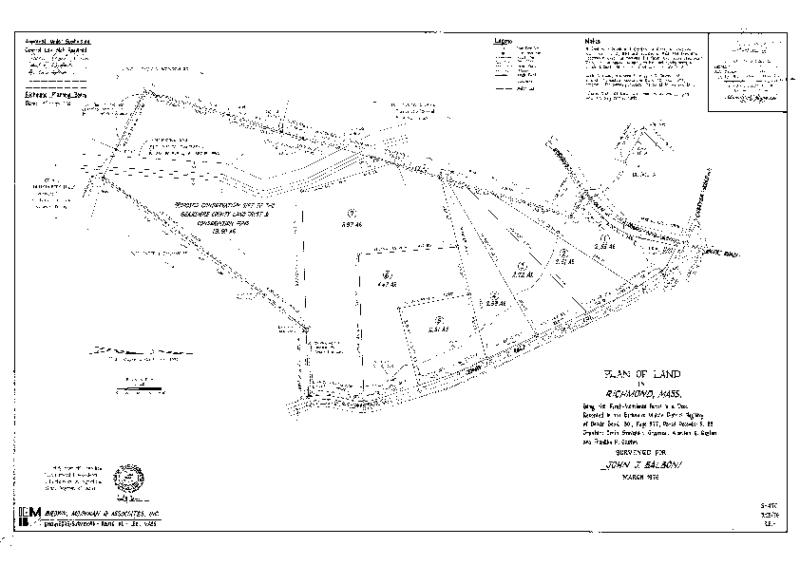 00DA 12 Balboni plan of land drawer A-12