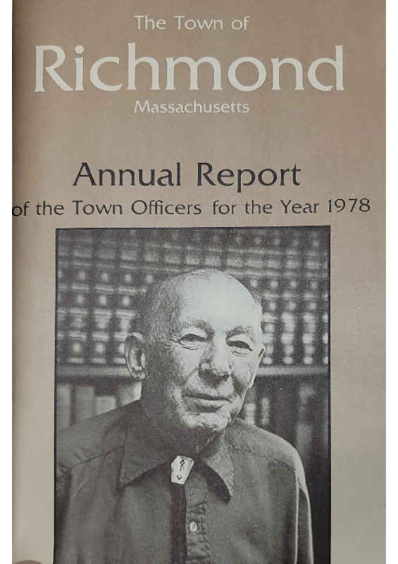 1978 Planning Board Annual Report