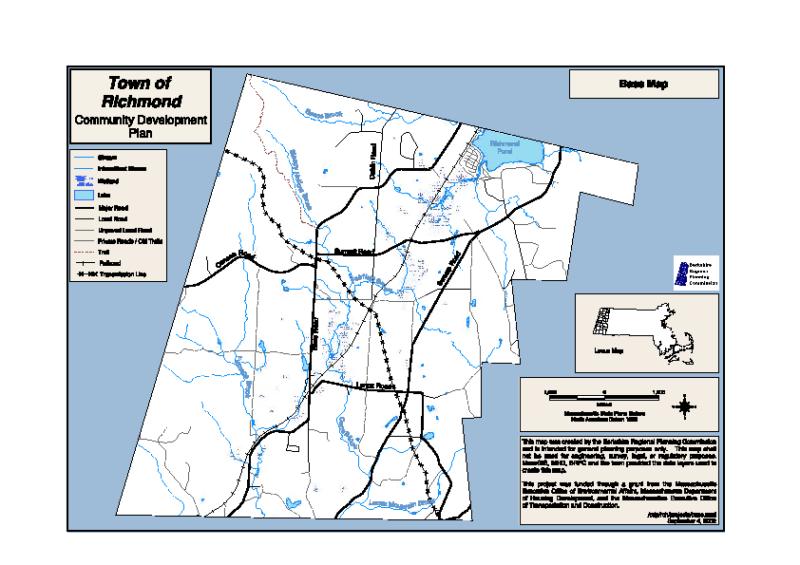 2003 Community Development Plan Maps
