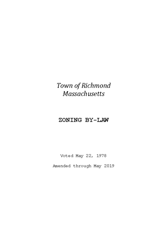 May 2019 Zoning Bylaw Town-of-Richmond