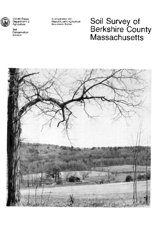 Berkshire County Soil Survey – 1988