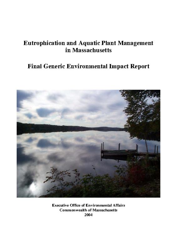 Eutrophication and Aquatic Plant Management in Massachusetts